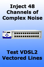 Telebyte Model VxT-N48 48-Channel AWGN Generator/Injector